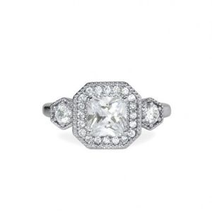 Deco Cocktail Ring - Size 9